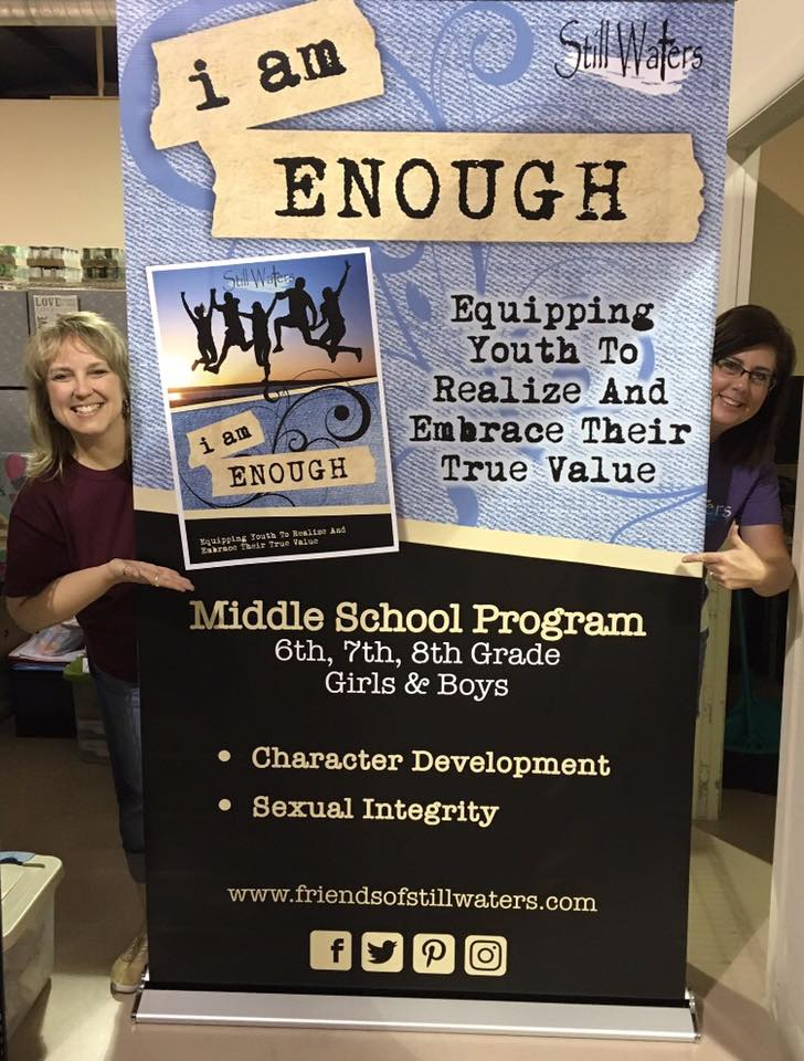 How many organizations are currently using the i am ENOUGH program? The i  am ENOUGH program is currently being utilized in schools throughout the  world.